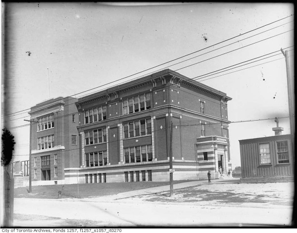 Wilkinson School – Northern wing construction in the 1920s